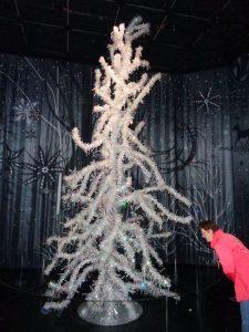 """Im """"Silent Light"""", einer der 16 Wunderkammern im Riesen, steht der gleichnamige, spektakuläre Kristallbaum, der zu den meistfotografierten Objekten zählt. - Foto: Dieter Warnick"""