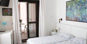 Die Zimmer. Foto: Hotel La Serena