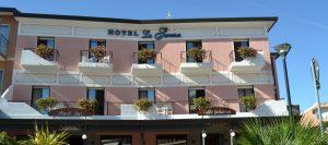Das Hotel La Serena. Foto: Hotel La Serena