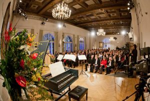Der Festsaal des Tutzinger Schlosses. Foto: Evangelische Akademie Tutzing © EAT-Archiv