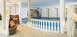 Der Wellnessbereich. Foto: Hotel Sonhof