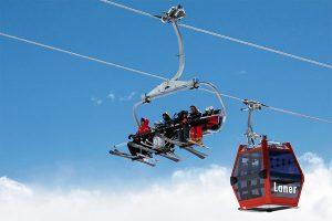 """Die Telemix Sessel-Kabinenbahn """"Laner"""" in Obereggen ersetzt den fixen 4er-Sessellift. Die neue Bahn wird 6er-Sessel und 8er-Kabinen haben und wird auch die neue, 750 m lange Rodelbahn bedienen. - Foto: Dolomiti Superski"""