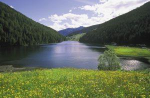 Am Durnholzer See findet der Gast Ruhe und Besinnlichkeit.