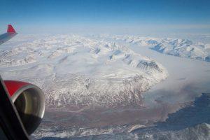 Spektakulärer Blick auf Grönland.- Foto: Thomas Bujack / AirEvents