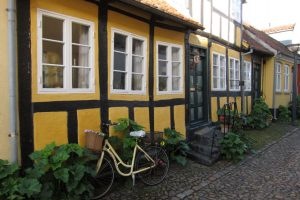 Alte Fachwerkhäuser verleihen Ærøskøbing eine idyllische Atmosphäre.