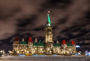 Das Parlament in Ottawa. - Foto: Lonely Planet