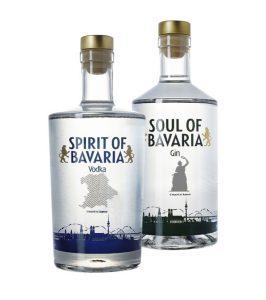 Vodka und Gin: SPIRIT & SOUL of Bavaria.