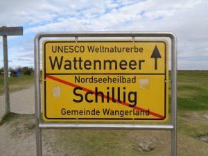 Immer geradeaus, das Wattenmeer ist nicht zu verfehlen. - Foto: Dieter Warnick