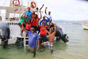 So machen Tauchausfahrten Spaß: Moderne Boote, gut gewartetes Equipment und eine fröhliche Crew, die höchsten Wert auf Sicherheit legt.