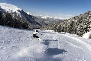 Traumhafte Abfahrten hat das Skigebiet in Obereggen zu bieten. – Foto: Eggental Tourismus