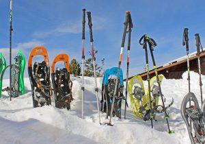 Wer mit den Schneeschuhen unterwegs ist, der hat sich auch eine Pause verdient. - Foto: Outdoor Club