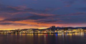 Bodø liegt nördlich des Polarkreises. Foto: Ernst Furuhatt