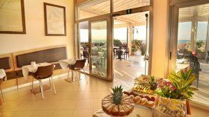 Frühstücksraum. Foto: Hotel Corallo