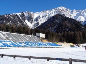 Das Biathlon-Zentrum in Antholz ist weit über die Grenzen Italiens hinaus bekannt. - Foto: Dieter Warnick