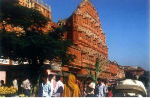 Palast der Winde in Jaipur/Indien. Foto: Christian Wolter