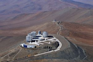 Das Very-Large-Telescope. Foto: Wikipedia