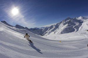 Skifahren und Snowboarden ist in Serfaus-Fiss-Ladis bei Sonnenschein eine gar nicht so seltene Angelegenheit. - Foto: www.lightwalk.de