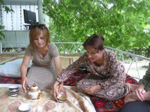 Dozentinnen von der Hochschule in Khorogh.