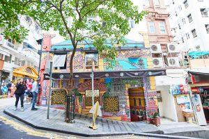 Hong Kong Street Art auf der Hollywood Road. - Foto: HKTB