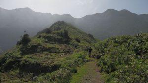 Wanderung zum Casa Forestal .