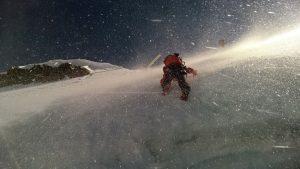 Eisklettern im Angesicht von Matterhorn und Co.