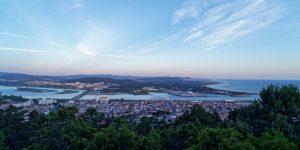 Das Panorama vom Monte Santa Luzia gilt als eines der schönsten Portugals.