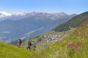 """Matsch, Südtirols erstes """"Bergsteigerdorf"""", liegt in der Wanderregion Matscher Tal im Vinschgau oberhalb der Gemeinde Mals. - Foto: Vinschgau Marketing/Frieder Blickle"""