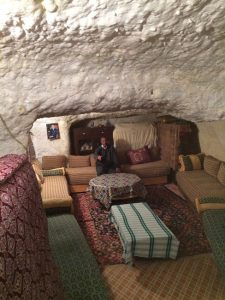 Höhlenwohnungen Bhalil: im Sommer kühl und im Winter nicht zu kalt. © Foto J. Scheppach
