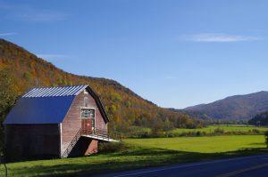 Vermont besticht vor allem durch seine liebliche Landschaft.