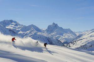 Pistenvergnügen pur – mit der Golden Moments Card. - Foto: Ski Arlberg