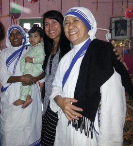 Im Heim der Missionarinnen der Nächstenliebe.
