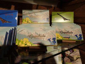 """""""Gapalade"""" – Garmisch-Partenkirchen-Schokolade – Erfindungsreichtum ist auch bei Chocolatiers gefragt. - Foto: Dieter Warnick"""