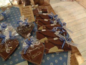 """In der Chocolaterie """"Amelie"""" gibt es alles, was das süße Herz begehrt. - Foto: Dieter Warnick"""
