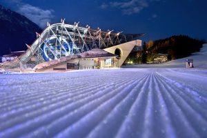 Die Talstation der Galzigbahn ist schon etwas ganz Besonderes. - Foto: Arlberger Bergbahnen AG