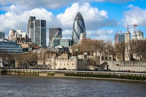 City of London und Tower of London. Foto; Londonplanters (Author), CC BY-SA 3.0 (Licence)
