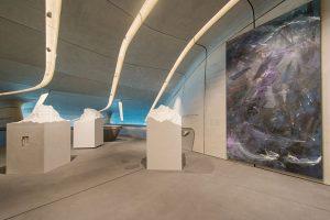 Das Museum ist zu einem großen Teil unterirdisch in mehreren Ebenen angelegt. - Foto: MMM Corones | Wisthaler Harald