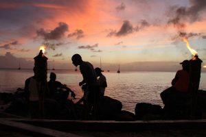 Auf keinen Fall verpassen: Sonnenuntergang von der Bar Bago's aus betrachtet!