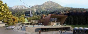 Eine Vision wird wahr - so sieht die Talstation der Jennerbahn ab Sommer aus. - Foto: BBAG