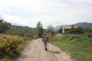 Stimmungsbild kurz vor Assisi.