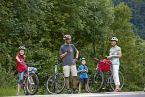 Wenn andere radeln, gönnt sich so manche Familie eine wohlverdiente Pause. - Foto: TLT / Peter Frischmuth