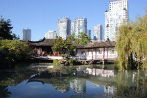 Vancouver ist für viele die schönste Stadt der Welt. Hier ein Blick auf Dr. Sun Yat-Sen Classical Chinese Garden