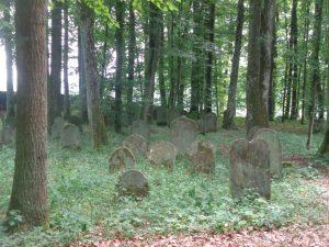 Wenkheim I: Seit 1590 gibt es den jüdischen Friedhof in der kleinen Gemeinde Wenkheim bei Werbach im Main-Tauber-Kreis. - Foto: Dieter Warnick