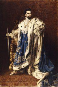 König Ludwig II.: Visionär und Träumer. - Foto: Bayerische Schlösserverwaltung – www.schloesser.bayern.de