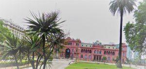 Casa Rosada in Buenos Aires.