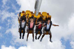 Der Skyswing ist Nervenkitzel und Mutprobe zugleich. – Foto: www.foto-mueller.com