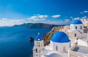 Die griechischen Inseln - hier Santorini - sind traumhaft schön. Foto: pixabay.com | Russell_Yan (CC0)