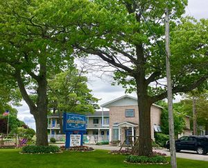 Unser Hotel in Mackinaw City.