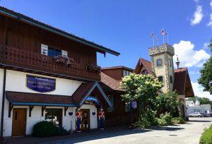Bayerische Esskultur in Michigan.