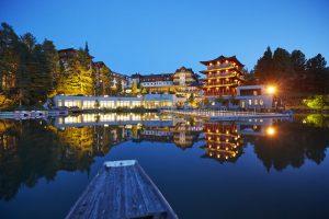 Hochschober bei Nacht. Foto: Hotel Hochschober.