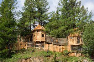 Das Hochschober-Baumhaus - ein Traum für die Kleinen. Foto: Hotel Hochschober.